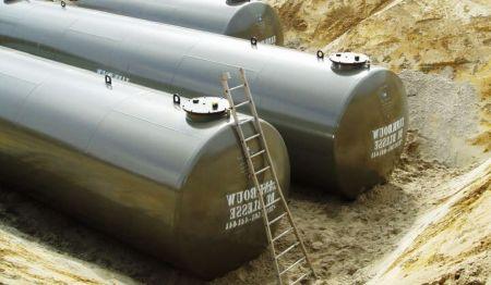 Een tankinstallatie conform BRL K903, Regeling Erkenning Installateurs Tankinstallaties