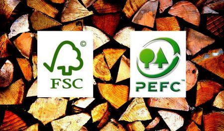 Een FSC of PEFC certificaat voor duurzaam hout