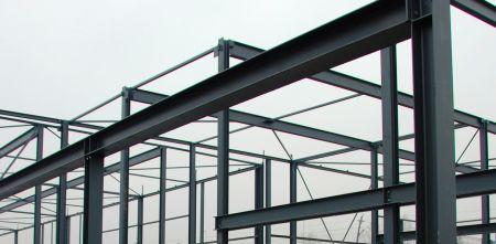 Conform NEN 1090 vervaardigde staalconstructie waarop CE-markering mag worden afgegeven